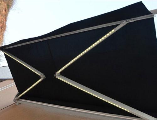 Toldos con luces LED